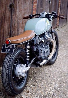 A simply cannot leave a Honda CX500 unpinned
