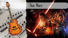 Partitura Tablatura Star Wars Guitarra Acústica