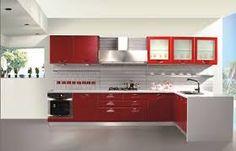 Resultado de imagen para pisos rojos en cocina
