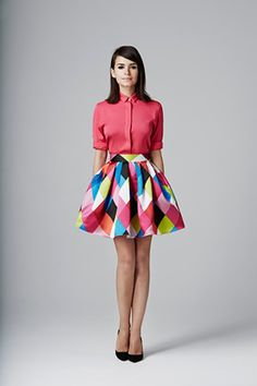 Miroslava Duma for American Retro