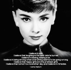 Happy Girls - Audrey Hepburn