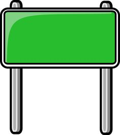 printable blank highway signs clipart google search childrens