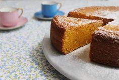 Torta de mandarina y miel