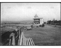 CATÁLOGO FOTOGRÁFICO | MUSEO HISTORICO NACIONAL - Paseo junto al mar -- 1910