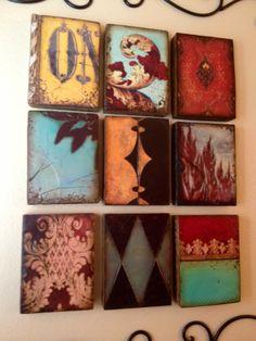I Love Sid Dickens Tiles.