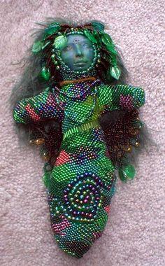 spirit dolls   Forest Spirit Beaded Doll by ~jardan on deviantART