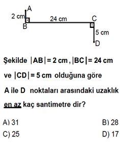 8.Sınıf Pisagor Bağıntısı Testleri