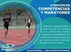 Atención en competencias y maratones, un servicio más que ofrecemos en Grupo Fisioterapéutico Integral #GrupoFI.