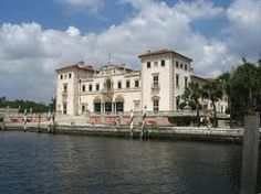 Biscaya Mansion, Florida my parents just to take us there...
