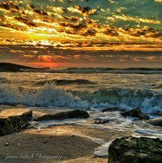 Late summer sunrise at Holgate, Long Beach Island, NJ. September 2014.