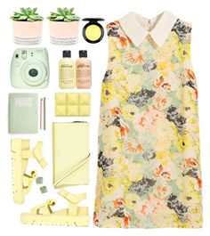 """transicion"" by licethfashion ❤ liked on Polyvore featuring Hostess, philosophy, Kate Spade, Xiao Li, Fuji and MAC Cosmetics"
