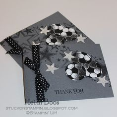 Stuck on Stampin': soccer stars