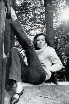 Diana Rigg. I'm pretty sure watching her in The Avengers when I was very young and impressionable had something to do with my being queer.
