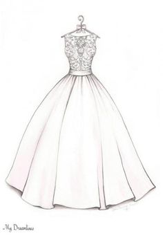 Trendy Wedding Gifts From Maid Of Honor To Bride Dress Sketches Ideas Fashion Illustration Sketches, Illustration Mode, Fashion Sketches, Drawing Sketches, Drawing Ideas, Drawing Style, Sketching, Fashion Sketchbook, Sketch Ideas