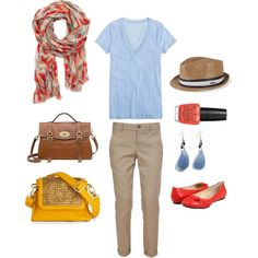 prep, created by #abby-tobias on #polyvore. #fashion #style J.Crew #Vince