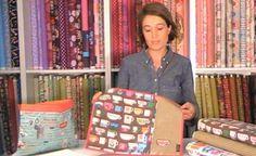 Tutorial para plastificar telas y hacer un mantel individual | Portaldelabores.com | Portal de labores