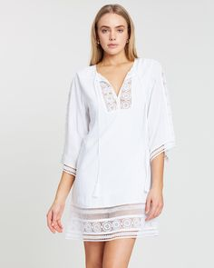 Buy Willow Long Sleeve Dress by Rusty online at THE ICONIC. Free and fast delivery to Australia and New Zealand.