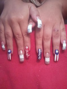 Puerto Rico nails.
