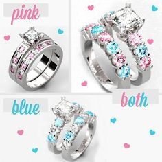 Pick your style... #Pink #Blue or Both?