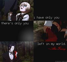 Alois Trancy quote from The Black Butler 2. #manga #anime #Kuroshitsuji_II #Alois_Trancy #quote