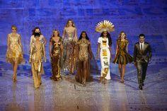 London Closing Ceremony & British Models