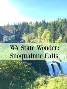 MAPLE LEOPARD: WA State Wonder: Snlqualmie Falls
