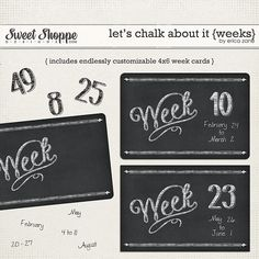 Sweet Shoppe Designs :: Shop By Designer :: Erica Zane :: Let's Chalk About It {Bundle} by Erica Zane