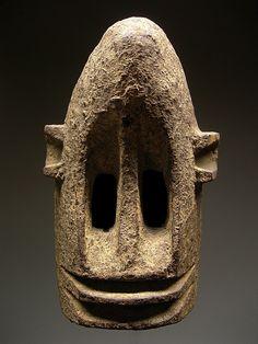 Dogon black monkey mask