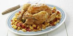 Kip gevuld met kruiden met gebakken aardappelen met chorizo | Carrefour Market