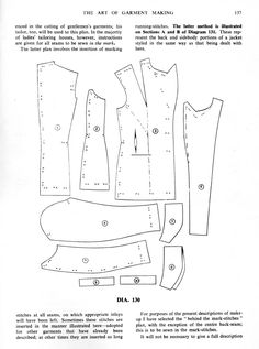 The Art of Garment Making Chap XI: Make-Up of a Lady's Jacket
