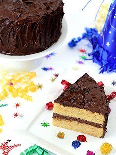 Paleo Birthday Vanilla Bean Cake