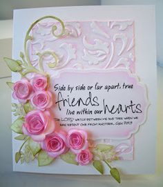 card on pinterest anna griffin wedding cards and parchment craft