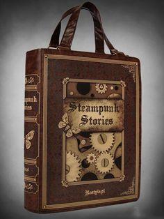 "Sac Gothique Restyle ""Steampunk Stories"""