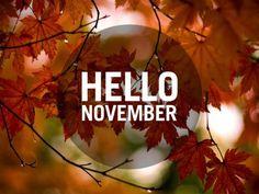 bienvenido noviembre imagenes - Buscar con Google