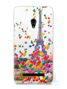 Capa Zenfone 5 Torre Eiffel e Balões - SmartCases - Acessórios para celulares e tablets :)