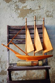 """mid century wooden sailing ship on """"the empires of the Atlantic world"""""""