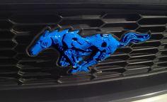 Ford Mustang 2010 2014 Custom Grill Emblem by hamRheadCreations