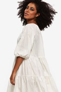 LOUD-BODIES-SUSTAINABLE-COLLECTION-SUMMER-2020-435 Sustainable Fabrics, Sustainable Fashion, Plus Size Stores, Feminist Art, Occasion Wear, Role Models, Fashion Art, Layers, White Dress