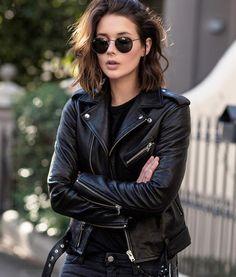 Les Brèves - Tendances de Mode #perfecto #looknoir