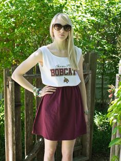 texas state bobcats tshirt | Texas State Bobcats Game Day T Shirt Tee Dress