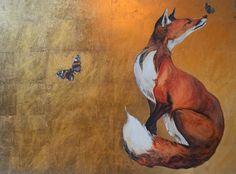 Fantastic Mr Fox, Morris, Fox Art, Watercolor Animals, Wildlife Art, Illustrations, Animal Paintings, Sculpture, Art Blog