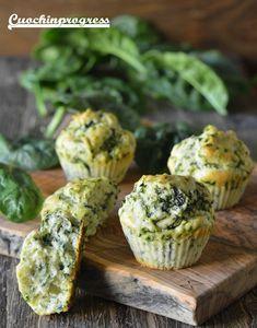 muffin agli spinaci