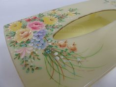 shopgoodwill.com: Mitchell Gould Plastic Tissue Box Holder Hinged