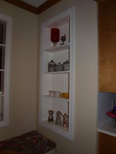 kitchen shelves and cabinets 13 best recessed shelves images on bathroom 5602