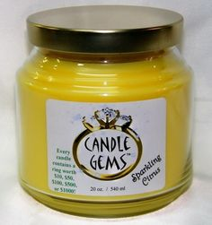 32 Days of Giveaways! Day 23: Sparkling Citrus Candle Gems