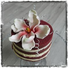 MAGNÓLIE (Magnolia) Cake, Desserts, Food, Magnolias, Tailgate Desserts, Deserts, Food Cakes, Eten, Cakes