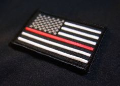 Firefighter paramedic Thin Red Line United by TacticalTextile, $4.25