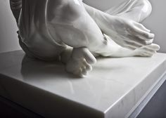 Temporal Sitter, 2011. Carrara Marble. 94 x 80 x 80 cm. Kevin Francis Gray. Picture 3 of 3.