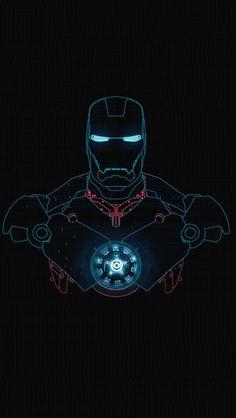 Iron-Man-Glow.png 640×1,136 pixels - Visit to grab an amazing super hero shirt now on sale!