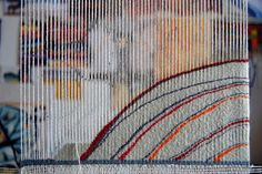 Helen Hallows: Tapestry - Just what I'm working on at present; extreme curves.